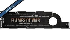 Flames of War FOW : Range Finder