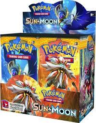 Pokemon Pokemon: Sun & Moon Boosters