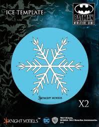 Knight Modles: Batman Ice templet
