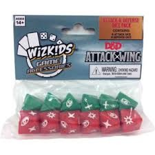 Wizkids D&D Attack Wing: dice set