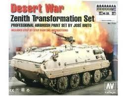 Vallejo :Desert war  Zenith transformation set