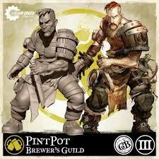 Steamforged Guildball: Brewer Guild- Pintpot