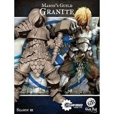 Steamforged Guildball:  Masons Guild- Granite