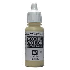 Vallejo vallejo model color : beige 70.917