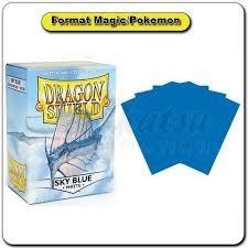 Arcane Tinmen Dragon Shields: (100) Matte, Sky Blue