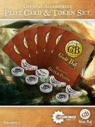 Steamforged GuildBall: Plot Cards & Tokens season 2