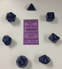 Chessex Chessex Speckled: Poly set, Cobalt (7) DICE