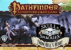 Paizo Pathfinder Adventure Card Game: Skull & Shackles- From Hell's Heart #6