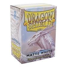 Arcane Tinmen Dragon Shields: (100) Matte, White