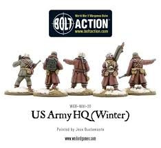 Warlord games Bolt Action: US- Army HQ (winter)