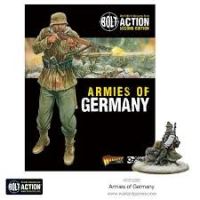 Warlord games Bolt Action: Armies of Germany Book