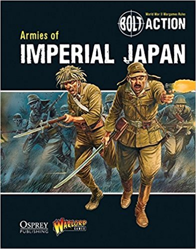 Warlord games Bolt Action: Armies of Imperial Japan book