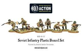 Warlord Game Bolt Action: Soviet Infantry