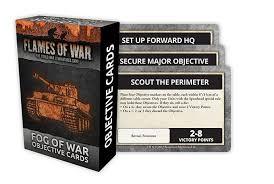 Flames of War Flames of War Objective Cards: Fog of War