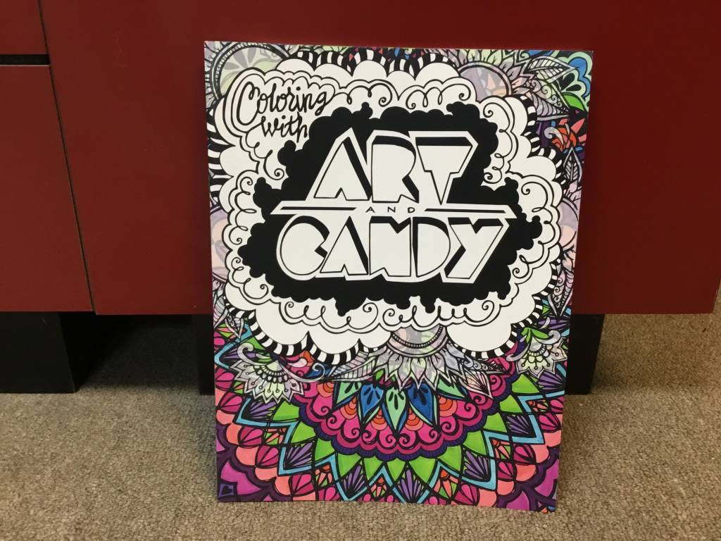Art and Candy coloring book