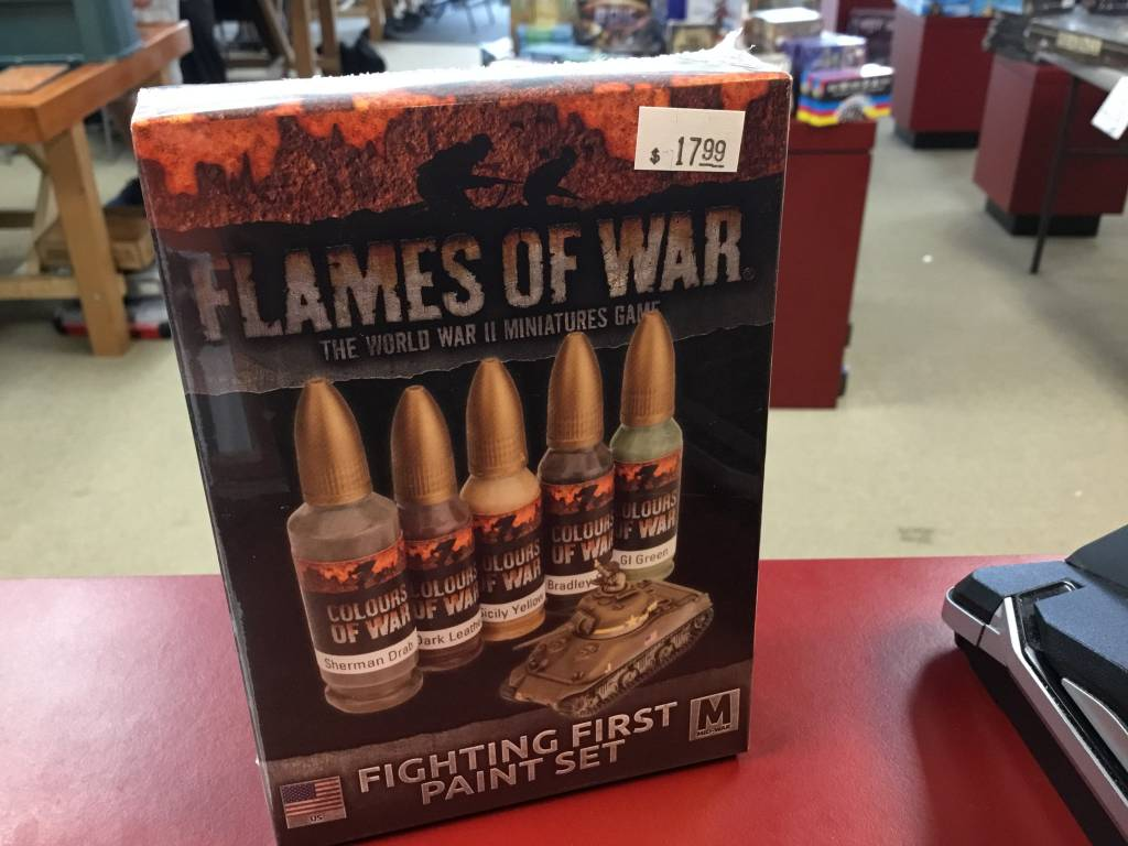 Flames of War FOW : Fighting First Paint Set
