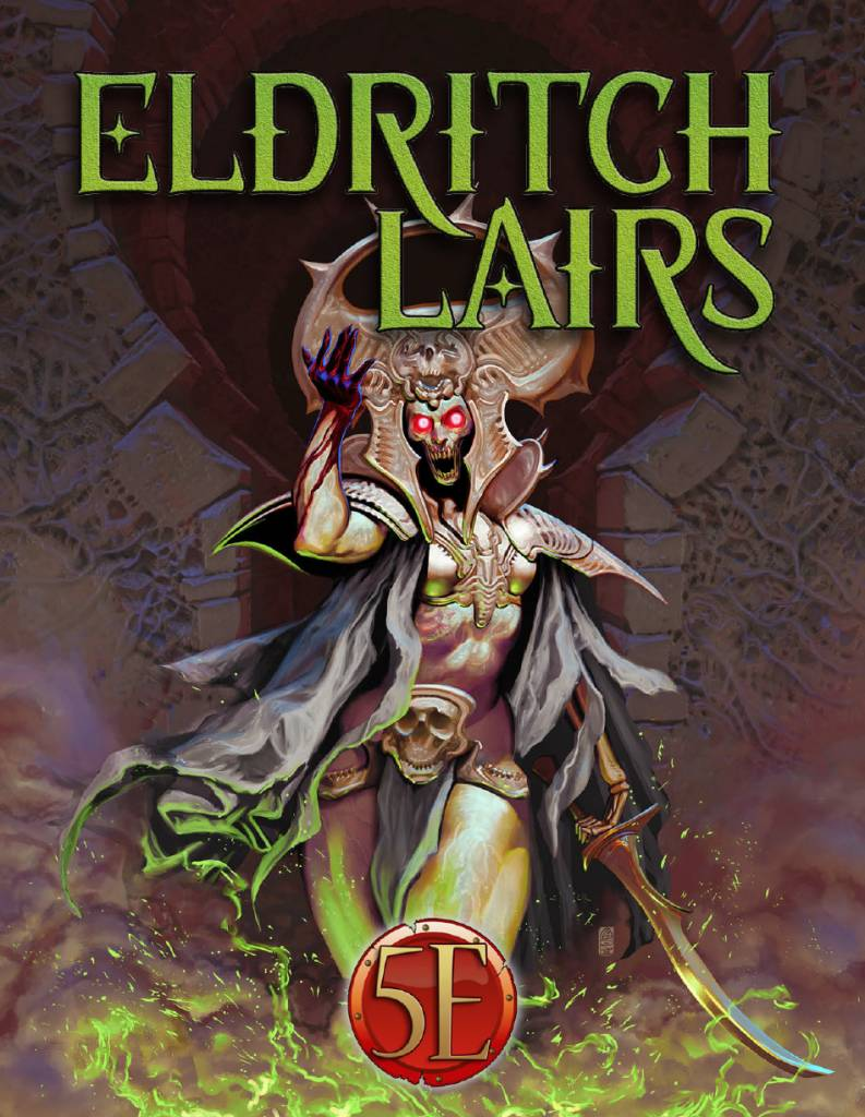 Kobold press Eldritch Lairs 5E RPG