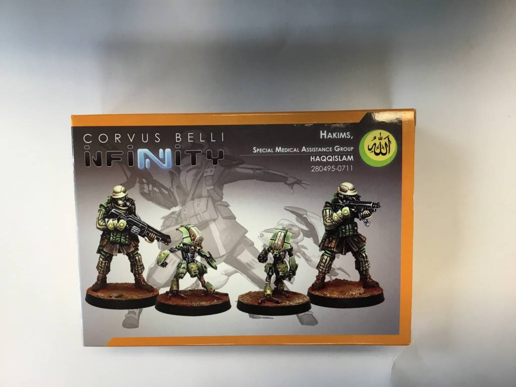 CORVUS BELLI Infinity : Hakims, special assistance group