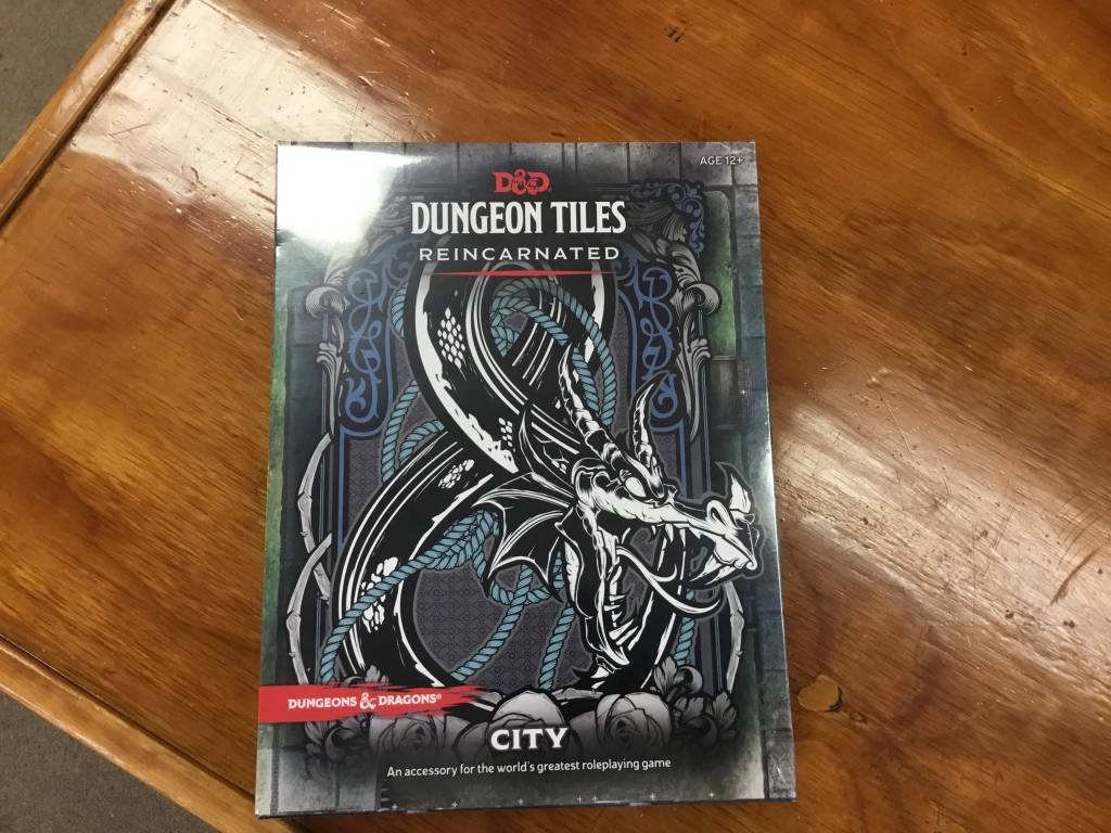 Wizards of the Coast D&D RPG Dungeon Tiles: Reincarnated City