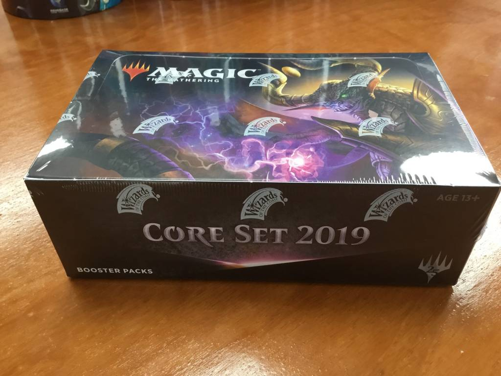 Magic the Gathering Magic: Core Set 2019 booster