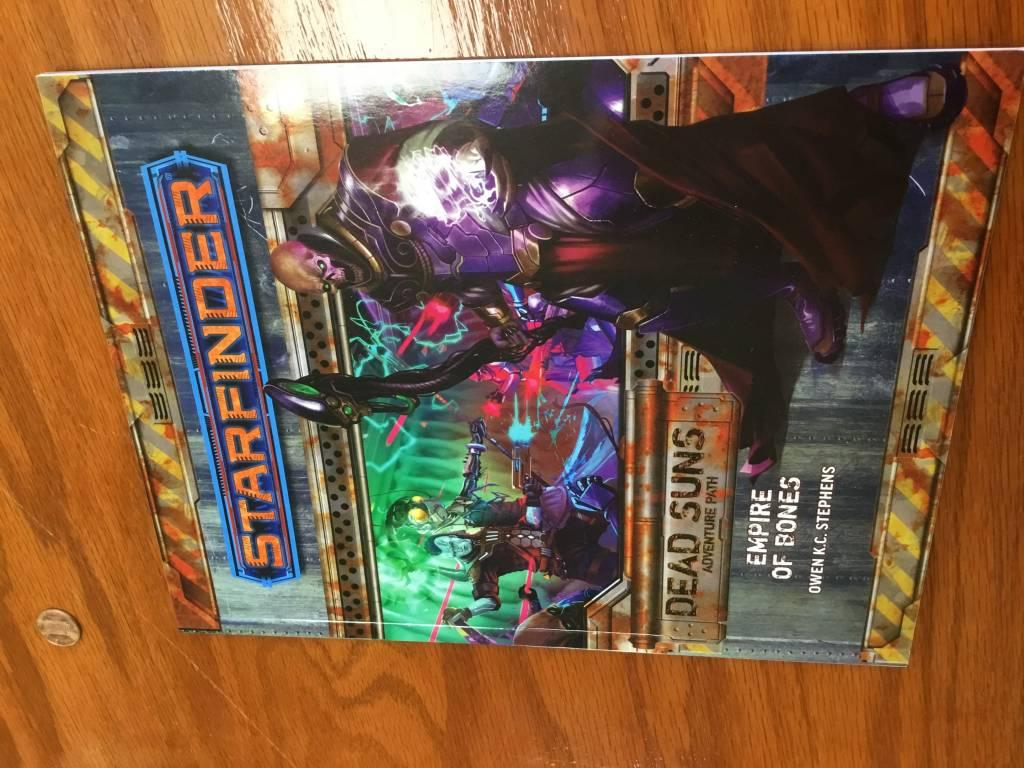 Paizo Starfinder RPG: Dead Suns- Empire of Bones