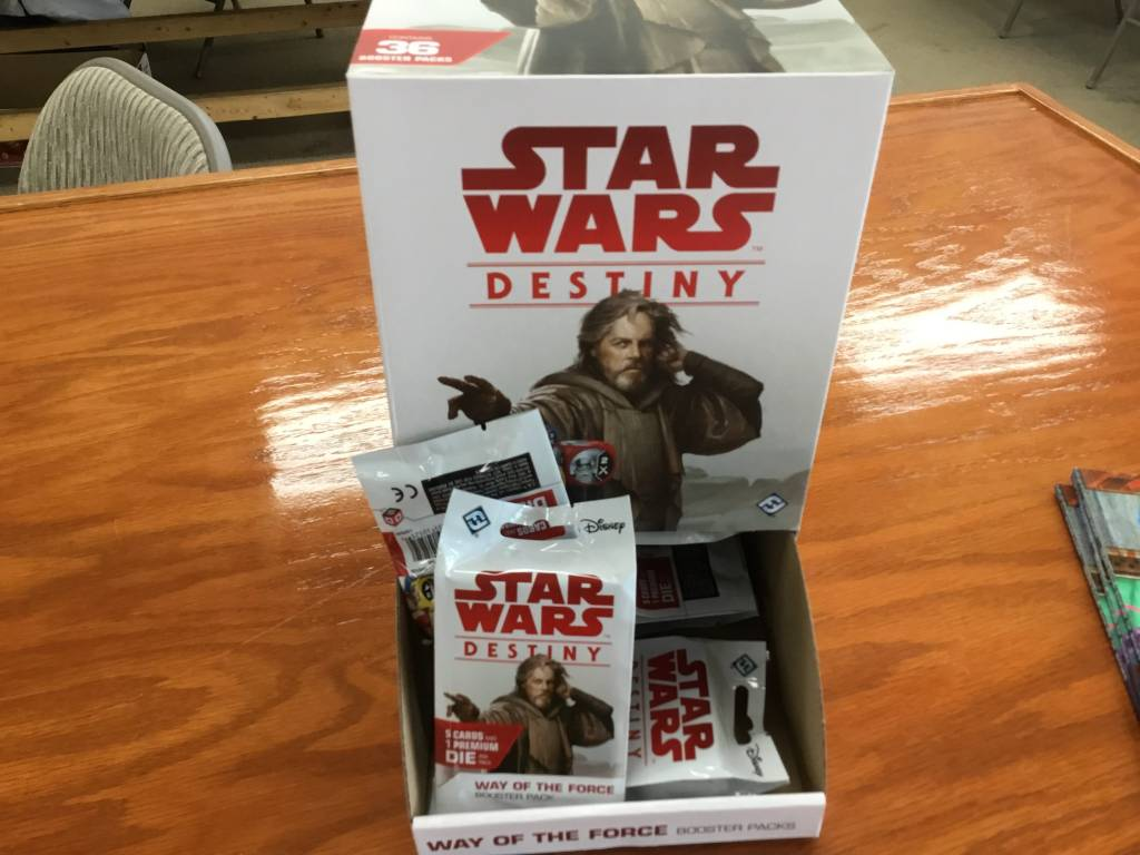 Fantasy Flight Star Wars Destiny: Way of the Force Booster