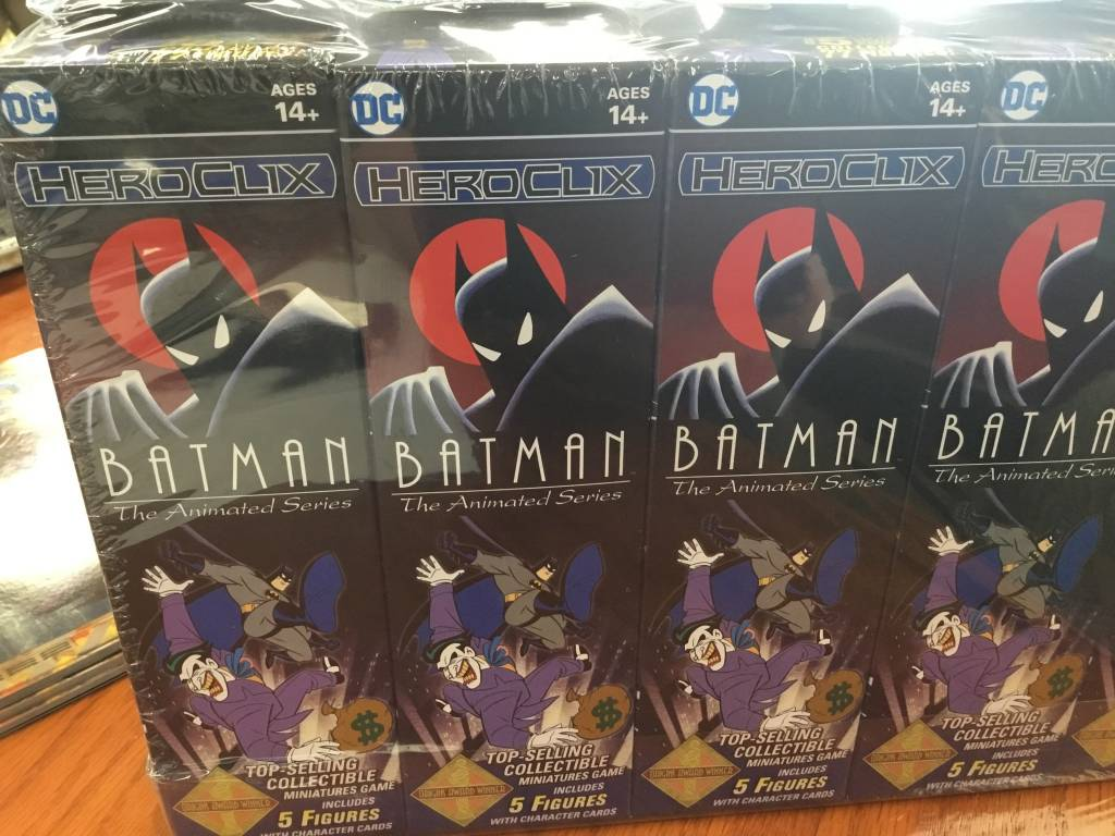 Wizkids DC Heroclix: Batman The animated series booster