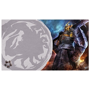 Fantasy Flight Legend of the Five Rings Playmat: Defender of the Wall Crab