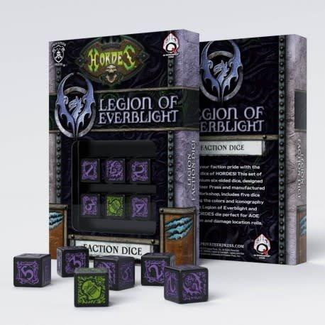Q workshop Hordes: Legion of Everblight Dice (6)