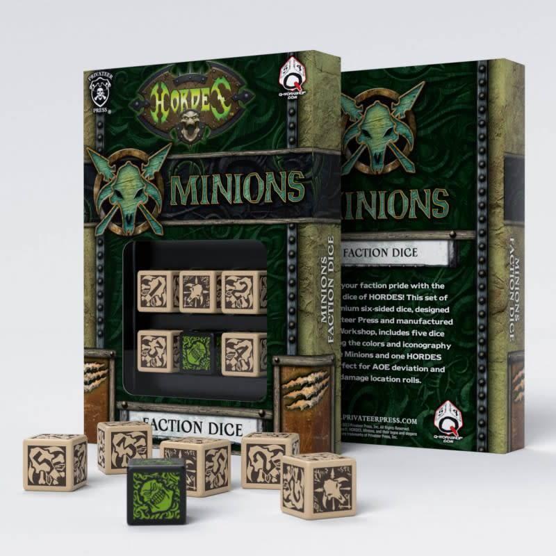 Q workshop Hordes: Minions Dice (6)