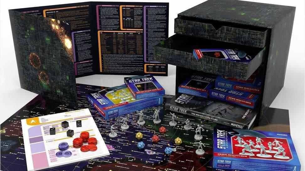 Modiphius Star Trek Adventures: Borg Edition Cube