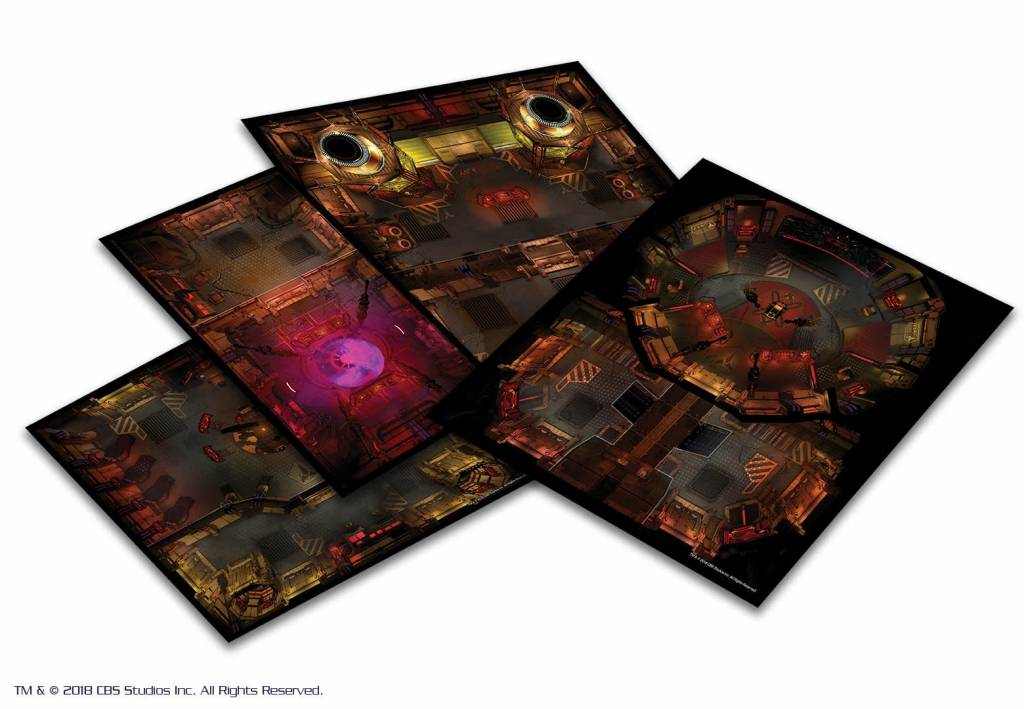 Modiphius Star Trek Adventures: Klingon Tile Set