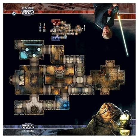 Fantasy Flight STAR WARS Imperial Assault: Jabba's Palace Playmat