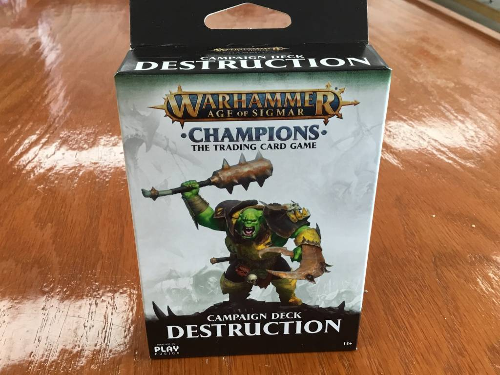 Games Workshop Warhammer CCG: Campaign Deck Destruction
