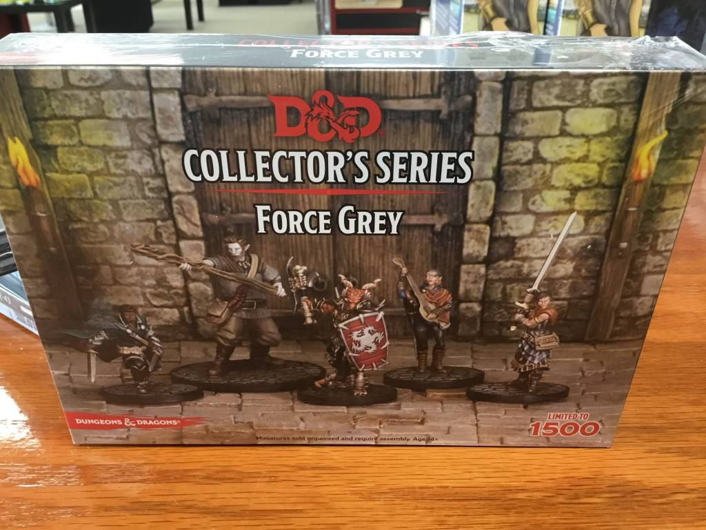 Gale Force Nine D&D Collector Series Mini: Force Grey