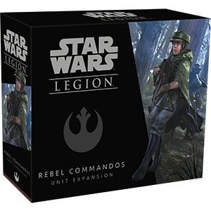 Fantasy Flight Star Wars Legion: Rebel Commandos