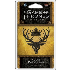 Fantasy Flight A Game of Thrones LCG : Baratheon House intro deck