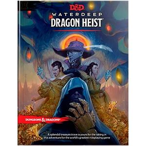 Wizards of the Coast D&D RPG Book: Waterdeep- Dragon Heist
