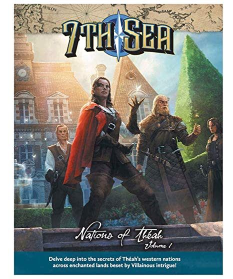 John wick 7th Sea RPG: 2nd Edition Nations of Thea, Volume 1