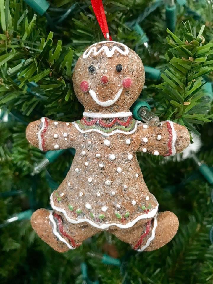 Gingerbread Girl Ornament