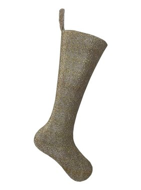Gold Glitter Stocking