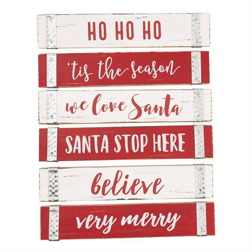 Christmas Sentiment Sticks