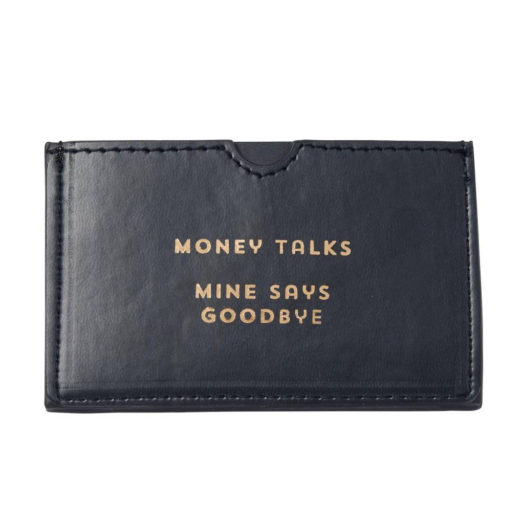 Money Talks Card Holder