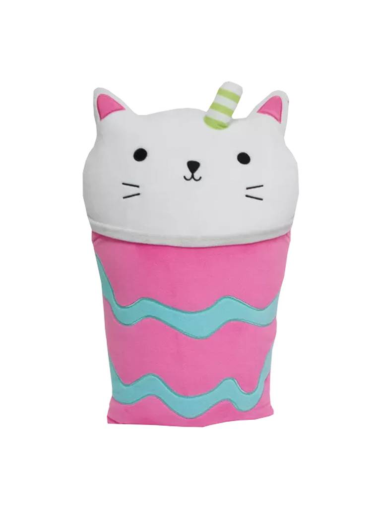 Purrfect Latte Strawberry Scented Pillow