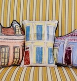 Blue Creole Cottage Pillow