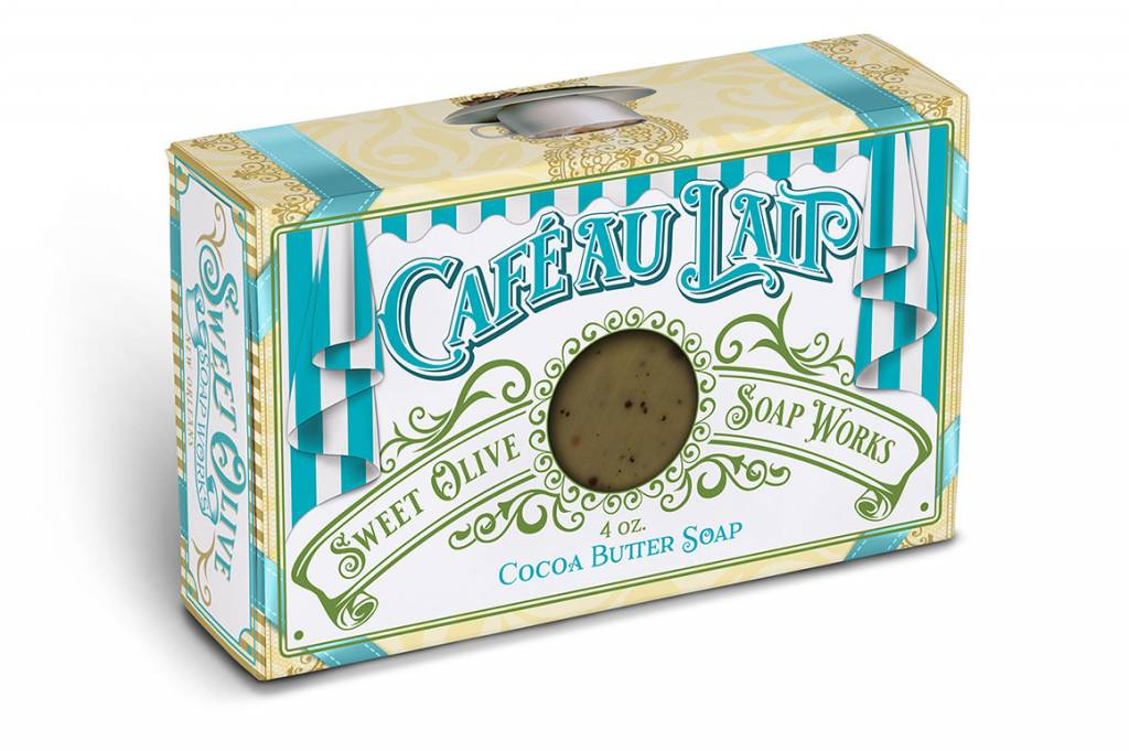 Sweet Olive Soap Works Cafe Au Lait Soap Bar
