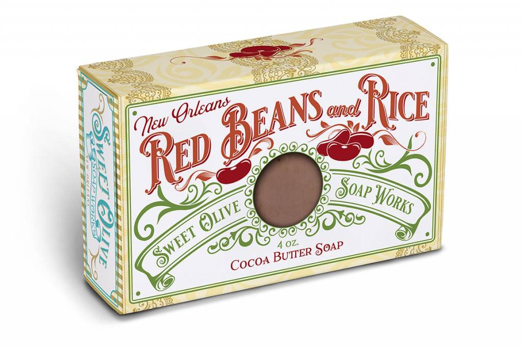 Sweet Olive Soap Works Red Beans and Rice Soap Bar