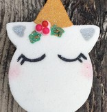 Crescent City Swoon Baby Unicorn with Holly Bath Bomb