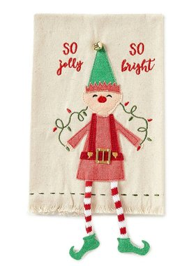 Elf Dangle Leg Towel