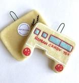 Roman Candy Wagon Salt Dough Ornament